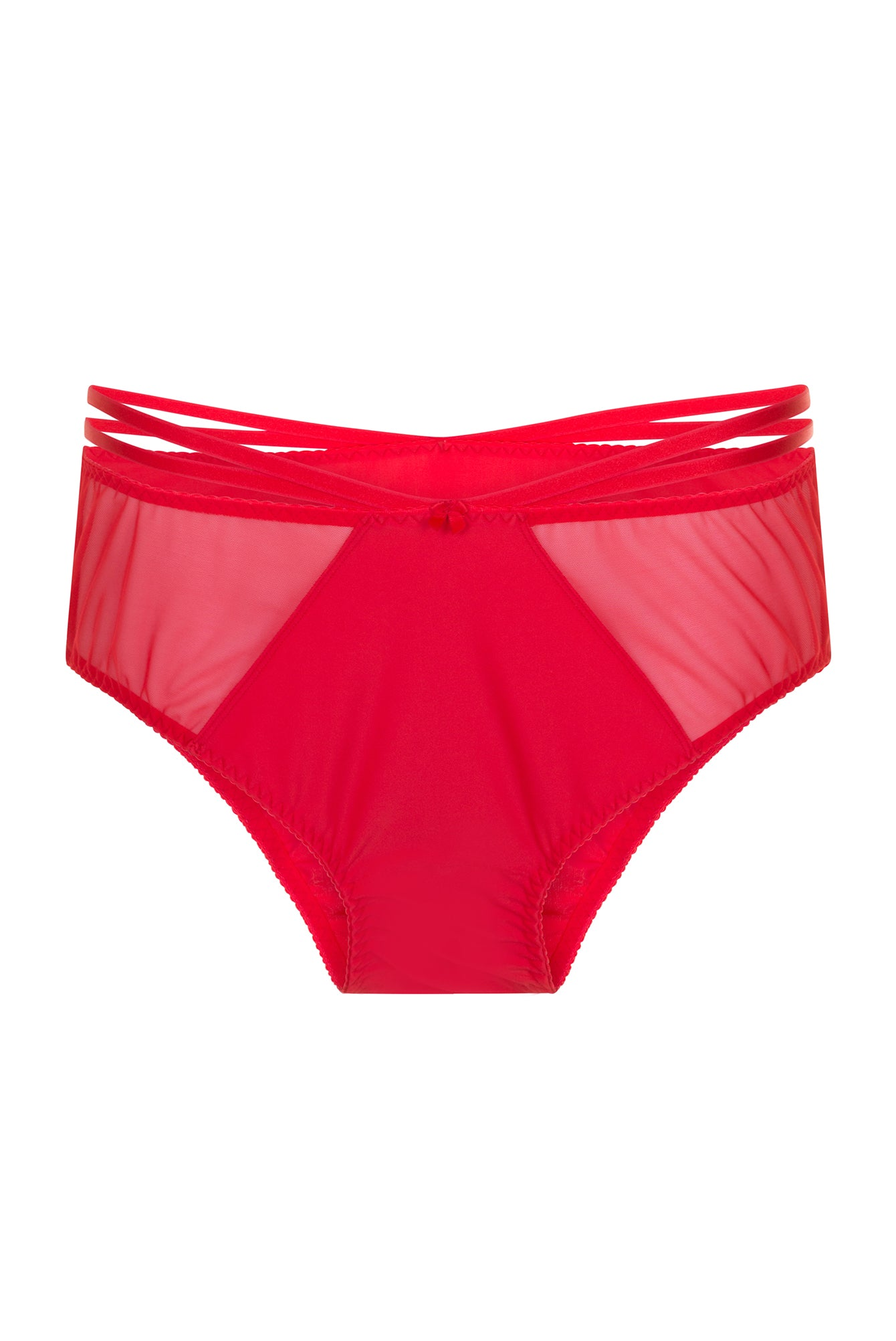 Red Strap Plus Size Briefs Panties Knickers 12 - 30