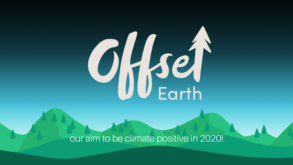 our aim to be climate positive in 2020!