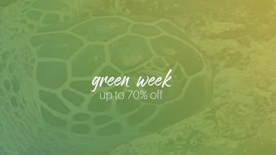 Green Week up to 70% off everything