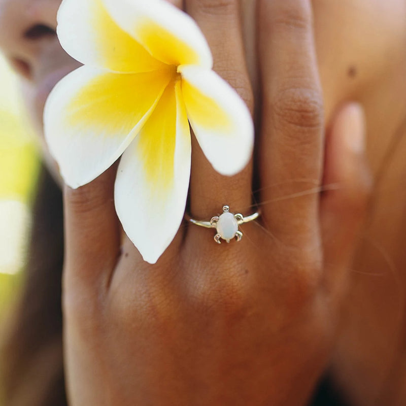 DREAMER Opal Sea Turtle Ring