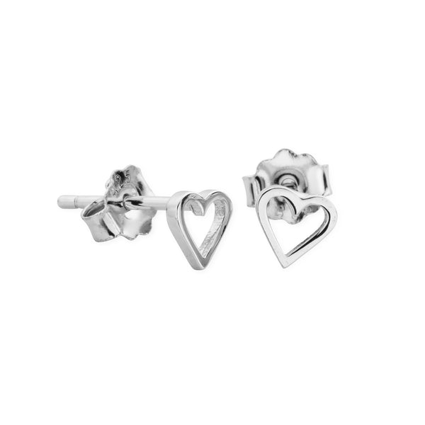 DREAMER Tiny Cut Out Heart Studs (3888006201441)