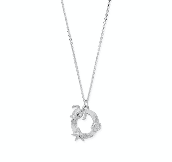 "Under the Sea Initial ""O"" Necklace (4835665903713)"