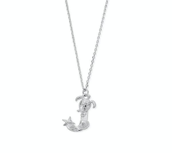 "Under the Sea Initial ""J"" Necklace"