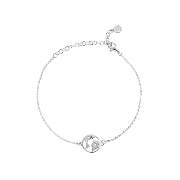 Sterling Silver Earth Bracelet
