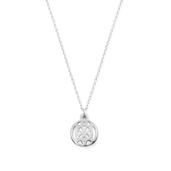 Honu Cut Out Sterling Silver Necklace (3824756326497)