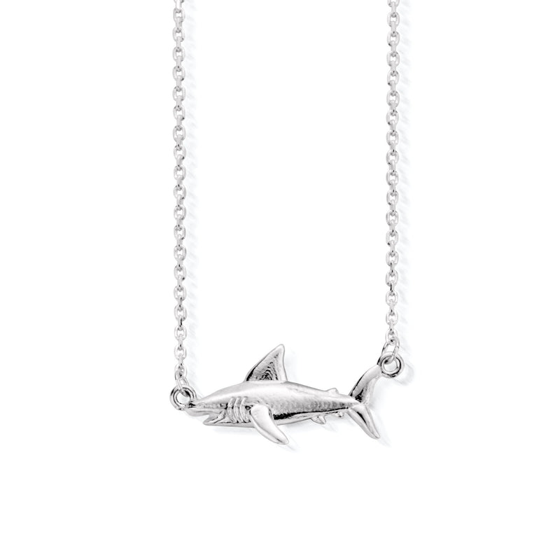 Hoaloha Shark Necklace (4814957117537)