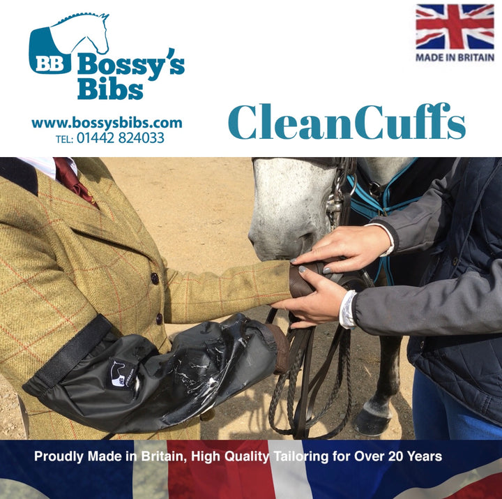 Bossy's Bibs CleanCuffs – Keeping Your Sleeves Dry and Clean