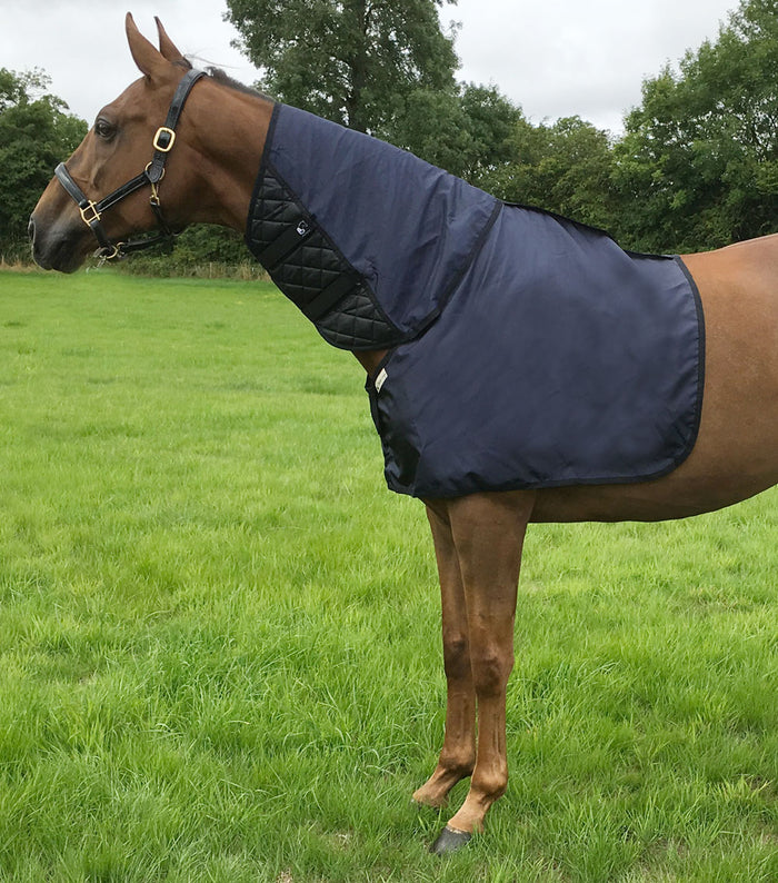 Bossy's Bibs ManeGuards smooth the mane and are very effective in the prevention of mane loss caused by full neck stable and outdoor rugs