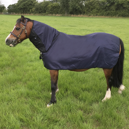Pony size, Bossy's Bibs / All-in-One / Mane and body protection/cure for rug rubs