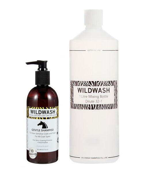 WildWash Gentle Shampoo for Sensitive Coats & Foals