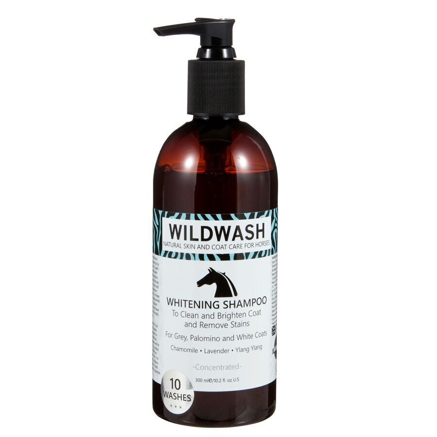 WildWash Whitening Shampoo for Grey, Palamino & White Coats