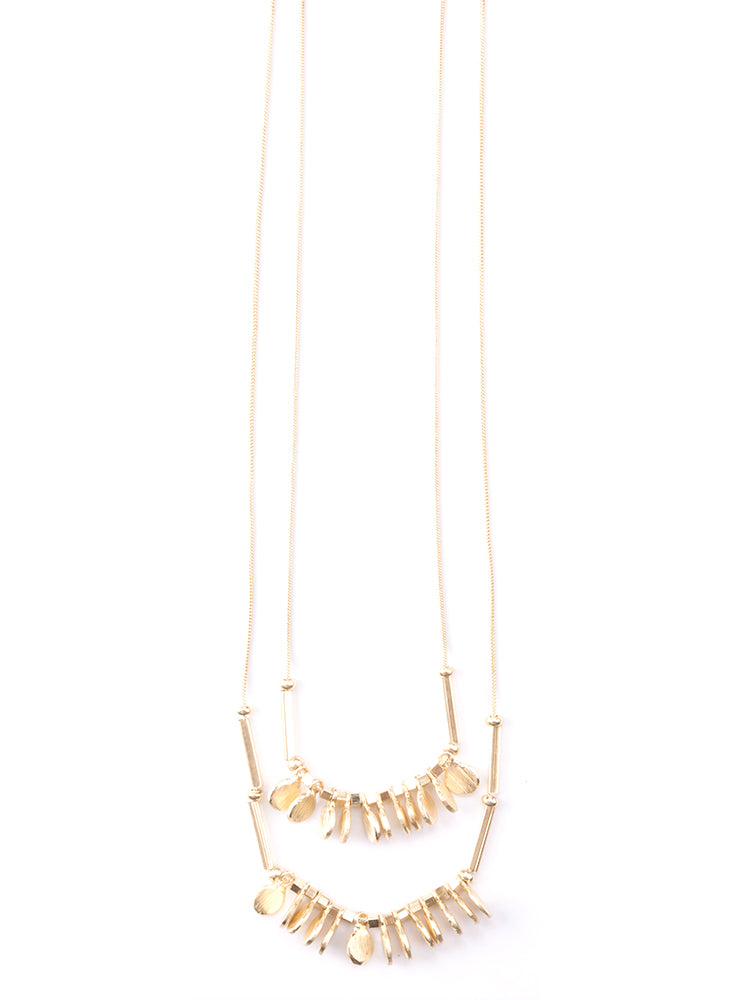 Mata Jewelry - Leila Necklace Gold