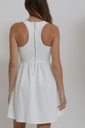 Sun Dress with Racer Back