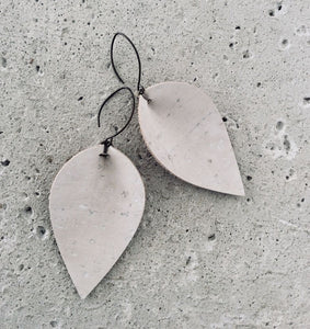 L rae jewelry - Cork Earrings