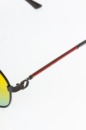 Assorted metal frame sunglasses