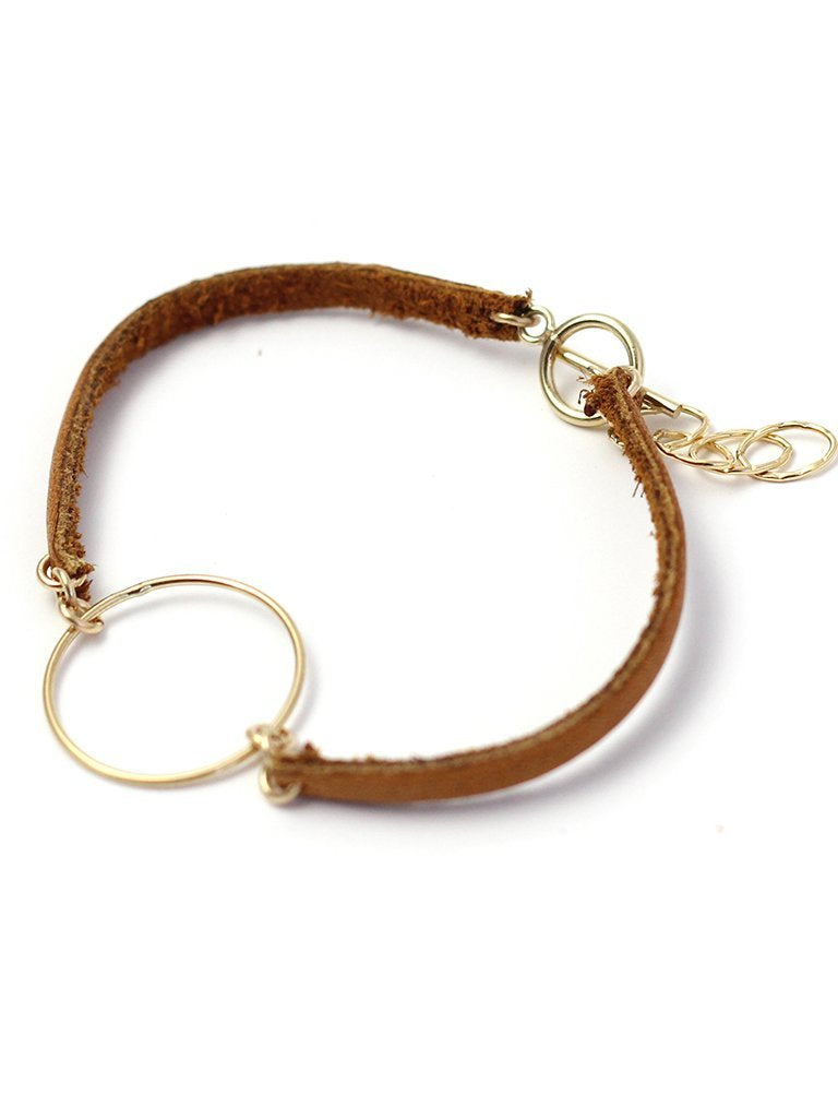 Co Kind Jewelry - Minimalist Leather Bracelet