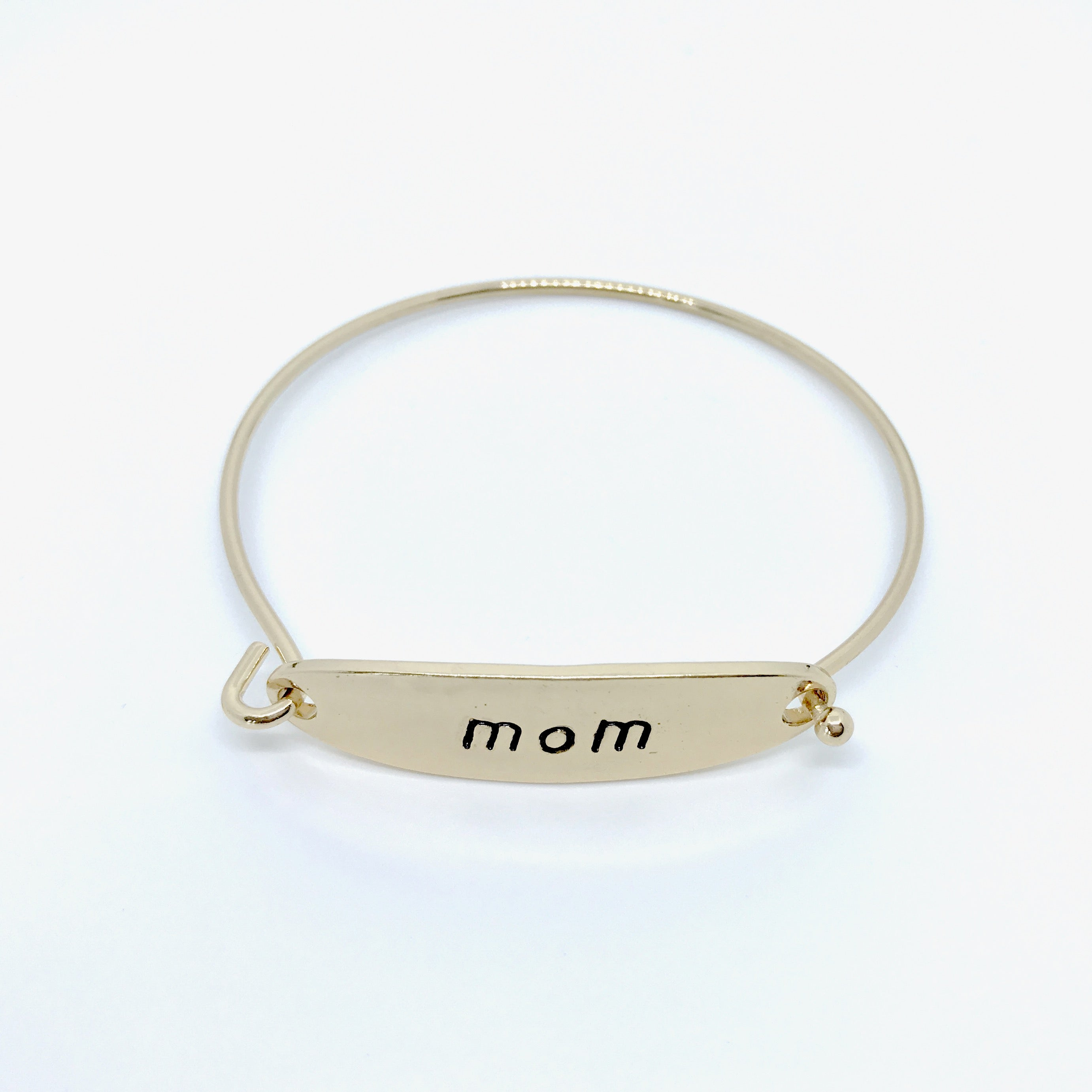 Pretty Simple - Sis and Mom Hinged Bangles - Gold