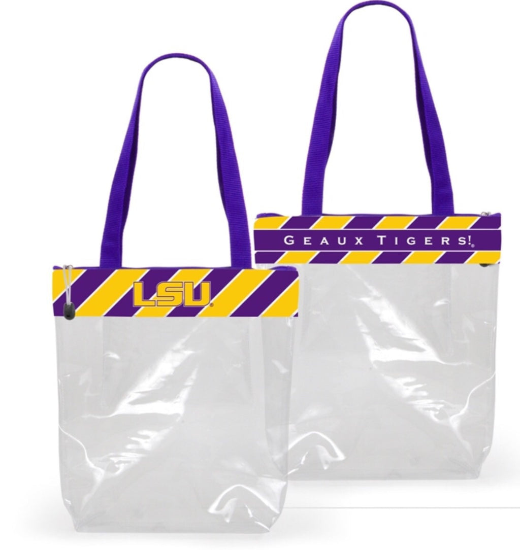 LSU Clear Tote Purse