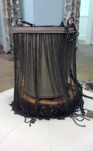 Bucket Purse with Chain