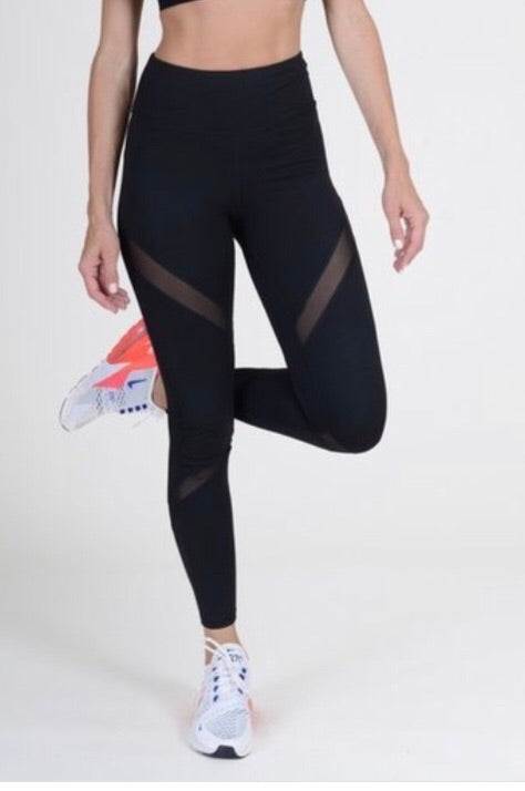 Mesh Panel compression leggings