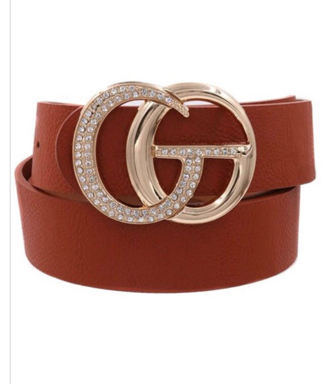 Designer Inspired G belt
