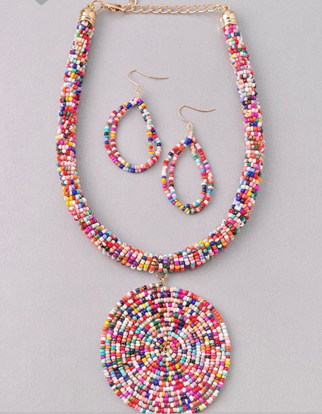 Bead Necklace Set