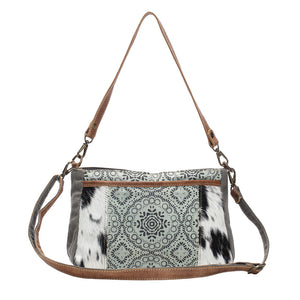 DUAL STRAP CROSS BODY BAG