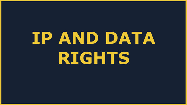 Government Grants Training: SBIR IP and Data rights