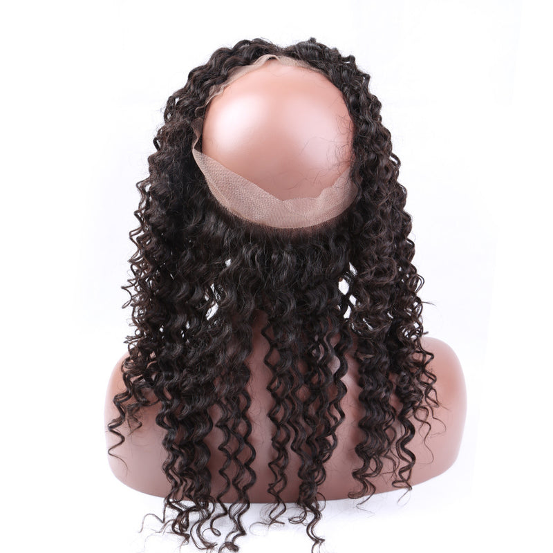360 Lace Band Curly Wave