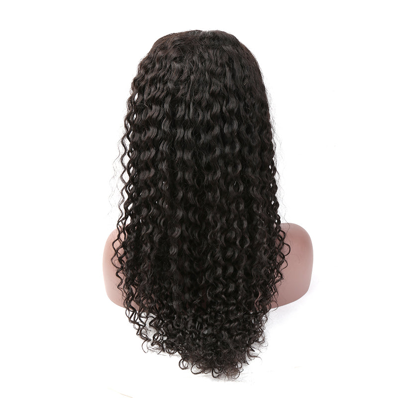 On Sale Curly Wave Front Lace Wig