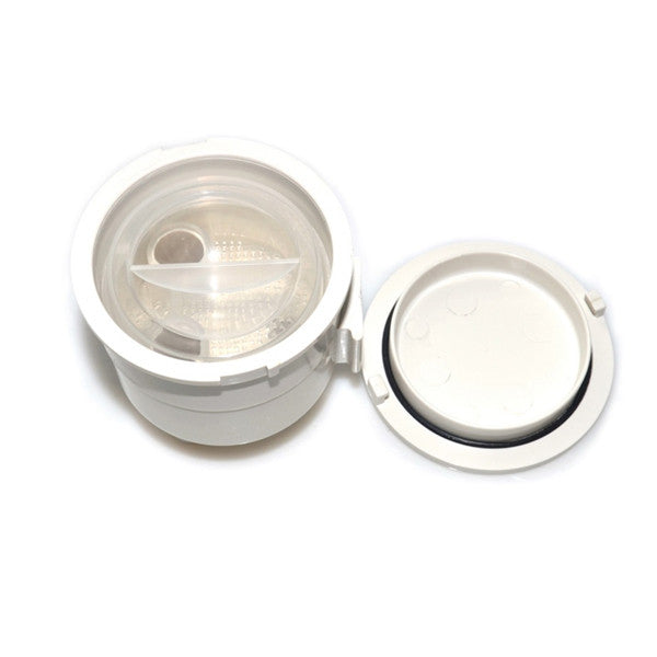 Vacuum Canister Locking Lid, Sterling.