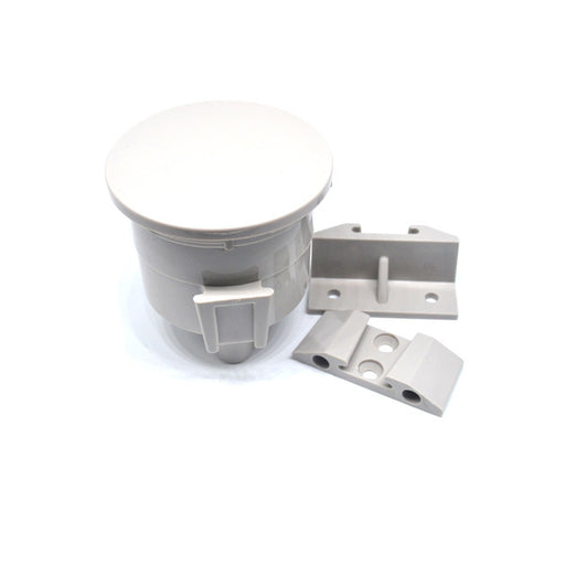 Vacuum Canister Locking Lid, Light Grey.