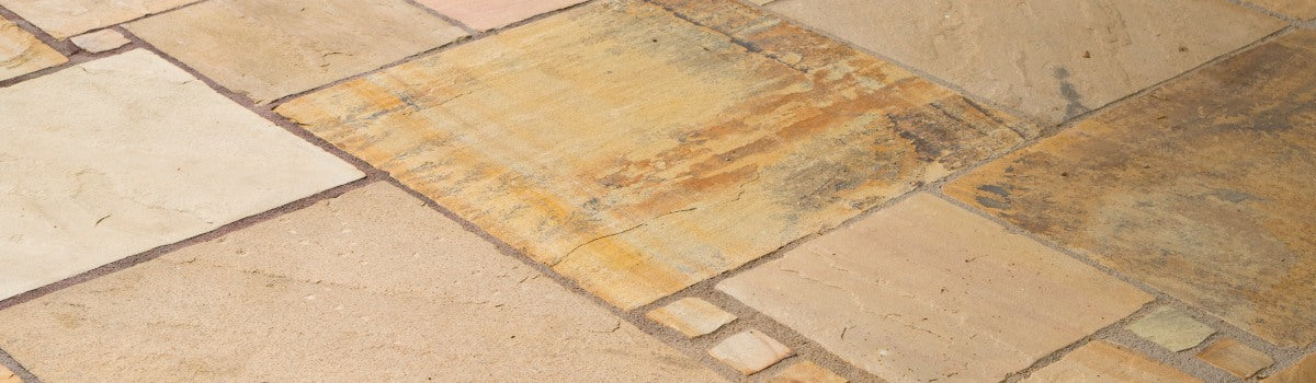 Is Indian sandstone slippery?