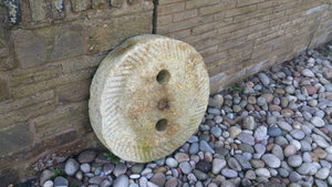 Reclaimed Mill Stone Wheel