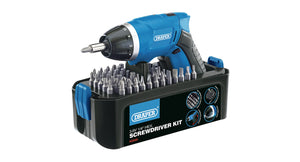 Draper Storm Force 10.8V Cordless Li-ion Screwdriver Kit (3.6V)