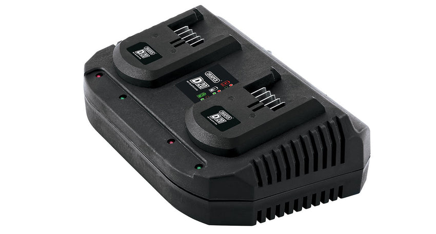 D20 20V Twin Battery Charger