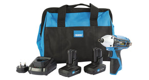 Draper Storm Force 10.8V Power Interchange Impact Driver Kit