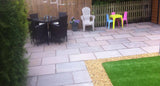 Autumn Brown Indian Sandstone Paving 05