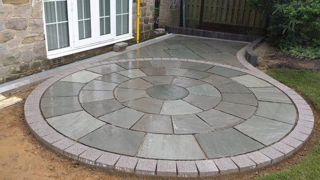 Kandla Grey Indian Sandstone Circle