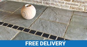 Kandla Grey Indian Sandstone 22mm Calibrated Project Pack (17.82M²)