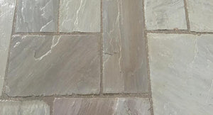 Blue Grey Indian Sandstone paving 1
