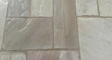 Kandla Grey Indian Sandstone paving 1