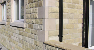 Coursed Sandstone Walling