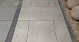 Hammerstone Light Grey External Porcelain Tiles
