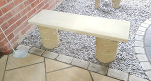 Hand Crafted Garden Bench - New