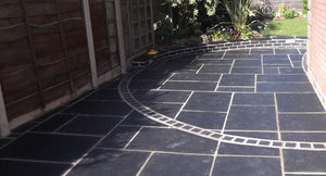Kota Black Single Size Paving