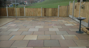 Raj Indian Sandstone Single Sizes