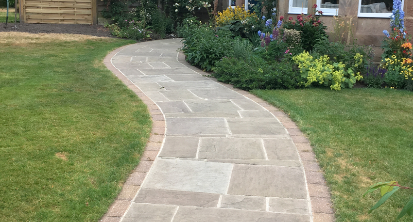 Raj Green Indian Sandstone Single Sizes (Full Crates)