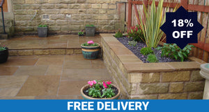 Raj Green Indian Sandstone Paving