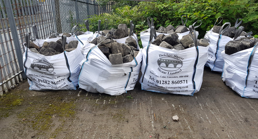 Reclaimed Yorkstone Cobbles